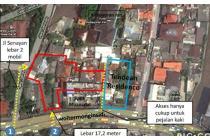 Tanah Luas 2.461 m2 Di Wolter Monginsidi Kebayoran Baru MP3370JL