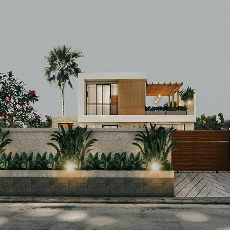 Villa MODERN di komplek elite Pecatu Graha