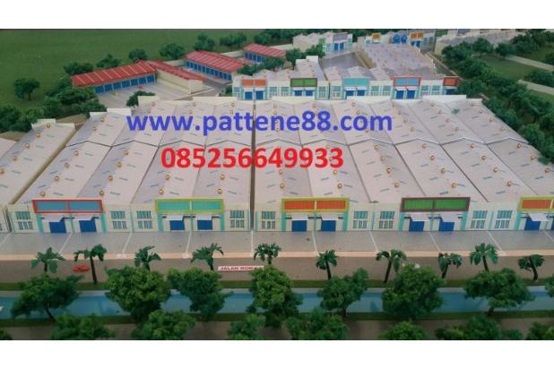 Pergudangan 88 Pattene Cluster Green Park Lokasi strategis harga Termurah 15789213