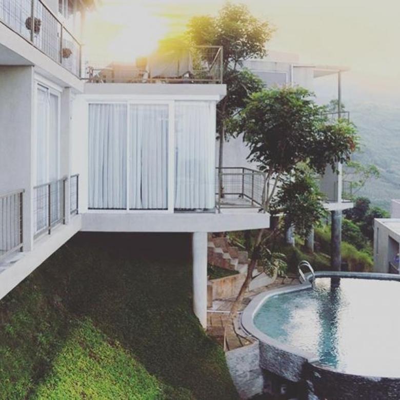 resort MEWAH dengan KOLAM RENANG PRIBADI di dago