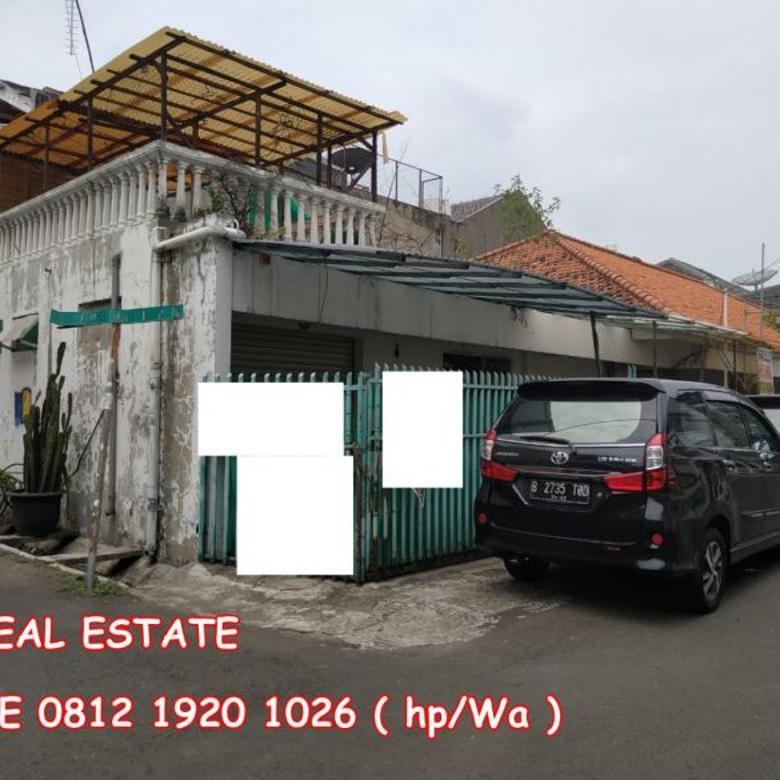 dijual rumah gelong baru timur tomang 13x24 hoek 22.5jt m2 ng y834