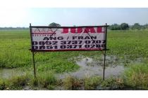 Dijual tanah lokasi strategis di Jln Semeru - Mojokerto