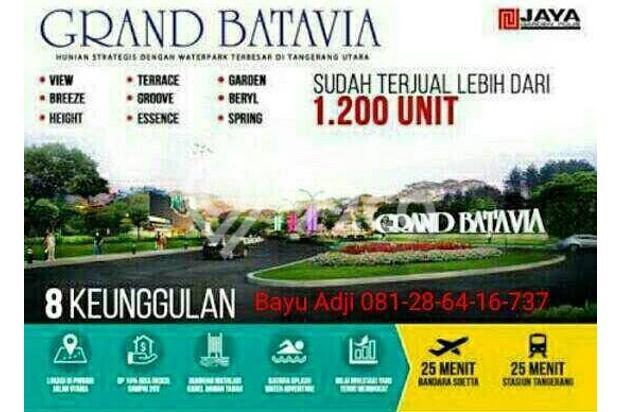 Dp.dicicil Murah cluster Grand Batavia persembahan Jaya Group 16551197