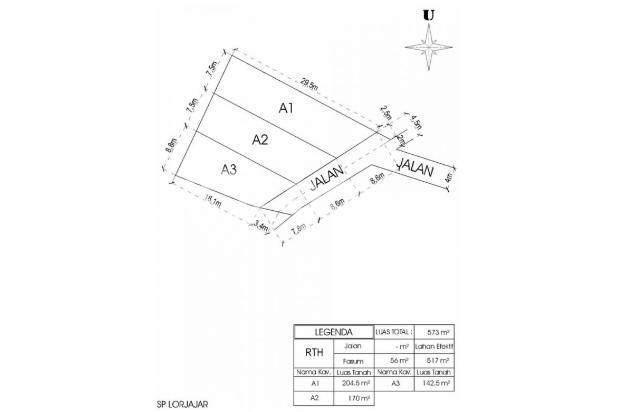 Kaveling Indah Lojajar: Hemat 150 Jt Bangun Rumah Sendiri 17995385