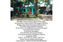 Dijual Murah Rumah Vila tenang dan Nyaman strategis di Tengah kota Cibubur