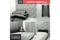 Komplek Green Ville, Jakarta Barat, 6x14m, 2 Lt, SHM