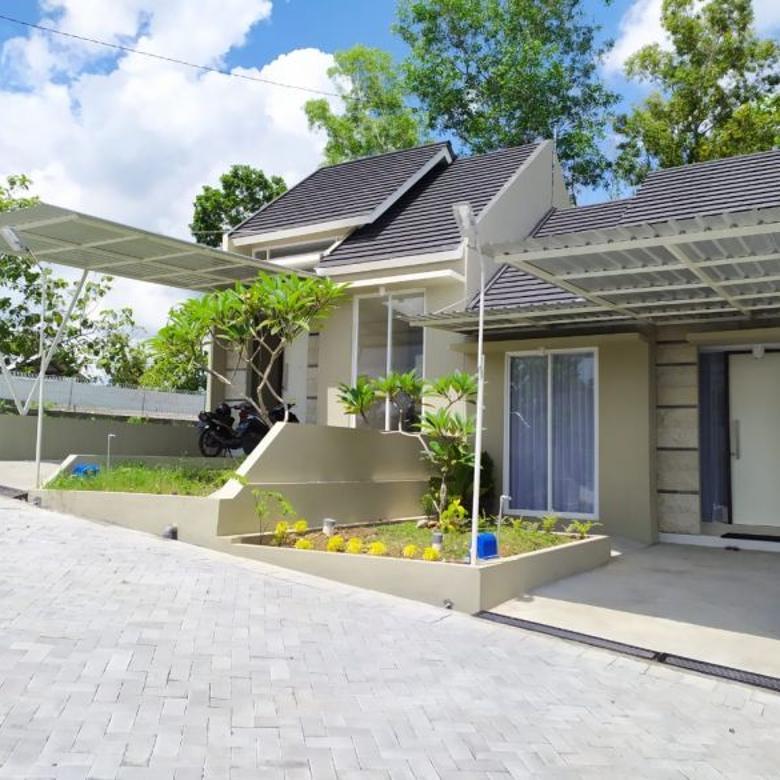 Rumah Minimalis Modern Dalam Perumahan Dekat PKU Gamping