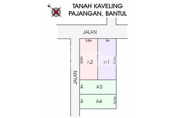 Investasi tanah di 2km Kampus UIN Bantul, Cicil 12x Tanpa Bunga 17794591