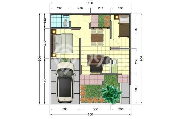 Rumah baru Booking Fee 1 juta mengurangi harga fasilitas banyak 17935598