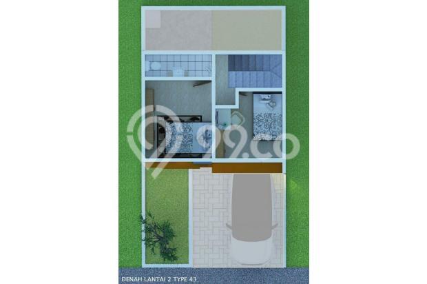 RUMAH 2 LANTAI DEKAT STASIUN CILEBUT | SHINNAMON REGENCY 22715603