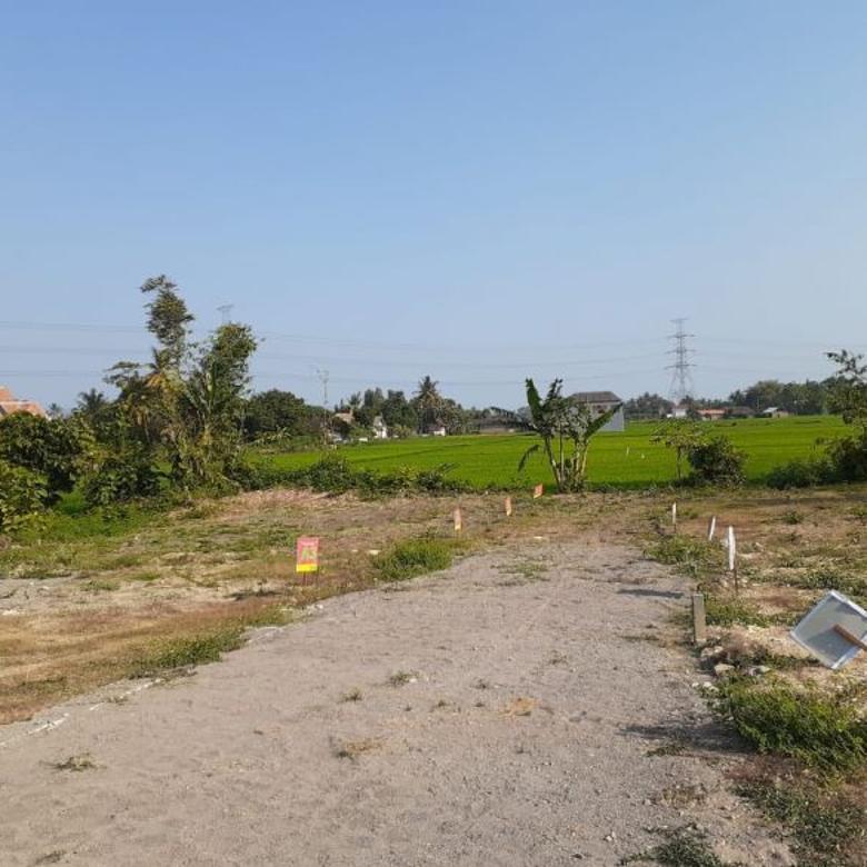 Tanah SHM Area Bantul Kota, View Sawah, Diskon Hingga 25%