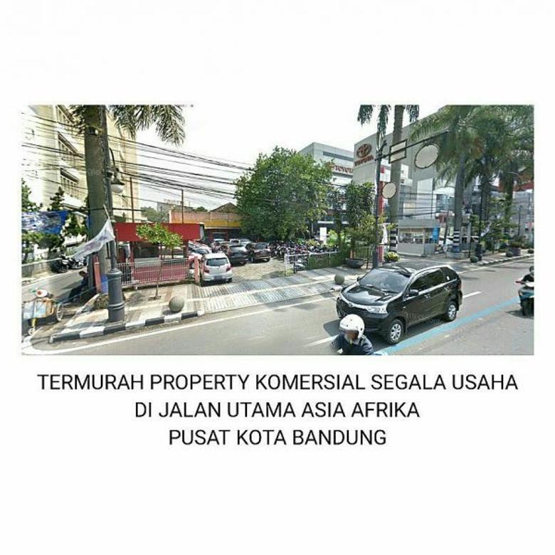 termurah jl asia afrika pusat kota bandung rumah u/usaha