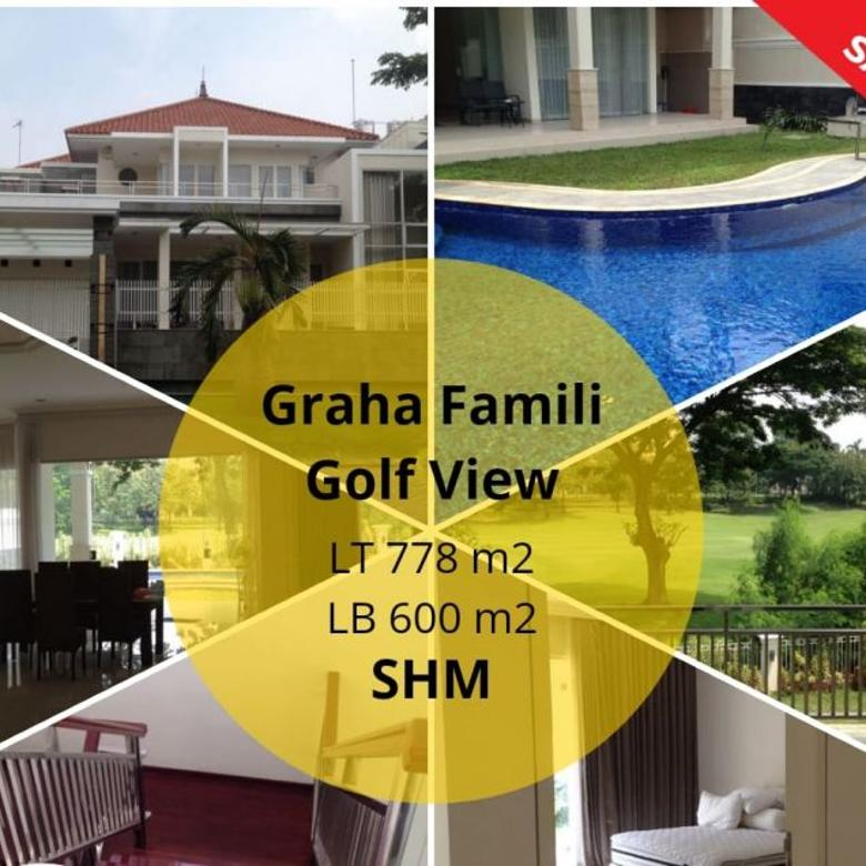 Rumah Mewah Private Pool di Graha Family Golf View