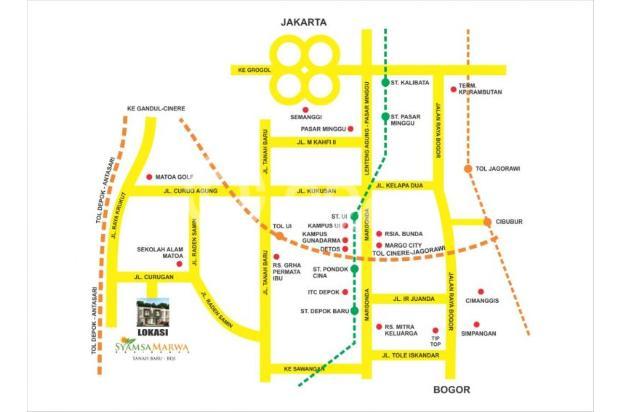 Perumahan Islami Muslim konsep 100% syariah di tanah baru Jakarta Selatan 16578655