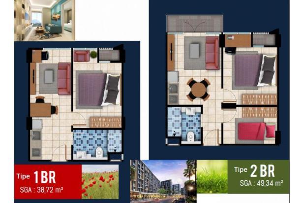 Rp568jt Apartemen Dijual