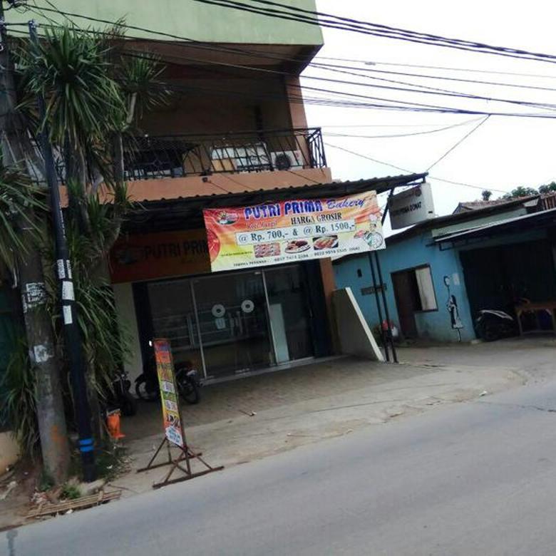 Ruko Lokasi sangat strategis, Pinggir jalan, Lokasi Ramai @Kunciran, tangerang