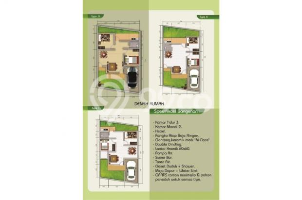 Dijual Rumah di Sawangan Depok Rp 640jt DP 140jt Cicilan 6,6j 6151490