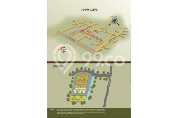 Dijual Rumah di Sawangan Depok Rp 640jt DP 140jt Cicilan 6,6j 6151492