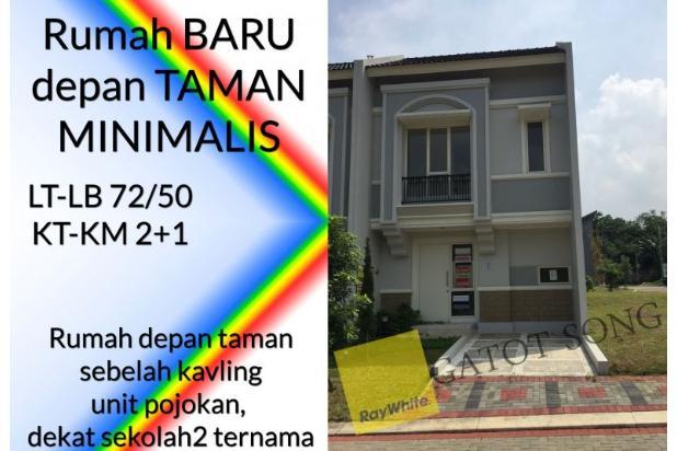 Rumah baru depan taman, harga murah unit pojokan @BSD 17995901