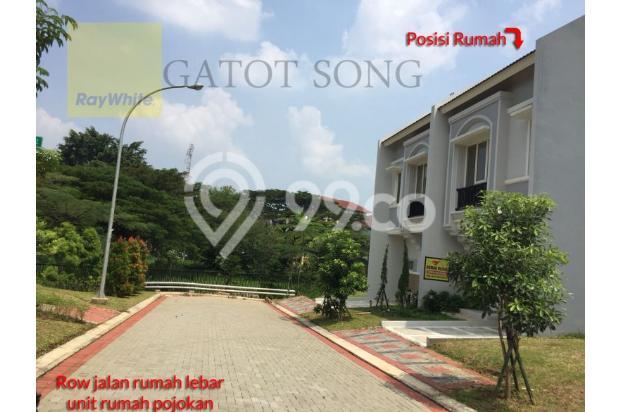 Rumah baru depan taman, harga murah unit pojokan @BSD 17995910