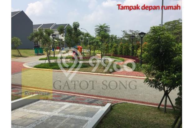 Rumah baru depan taman, harga murah unit pojokan @BSD 17995912