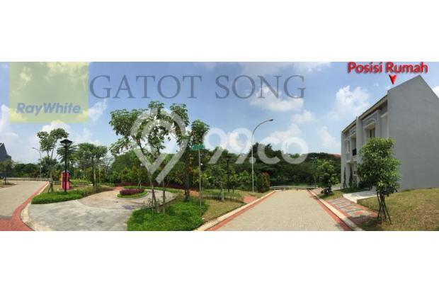 Rumah baru depan taman, harga murah unit pojokan @BSD 17995913