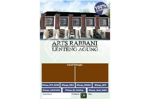 Rumah Baru Murah skema Syariah 2 Lantai di Lenteng Agung Jakarta Selatan 17105734