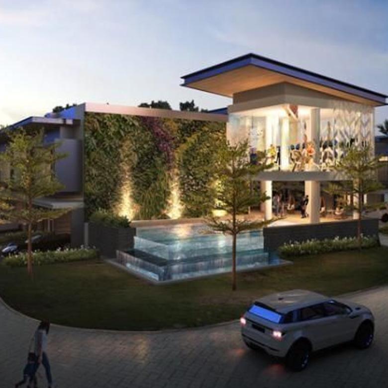 Rumah cluster cantik strategis jalan utama raya