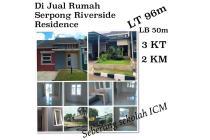 Harga Dibawah Pasar, Rumah di Serpong Riverside Residance,Ciater,Tangerang