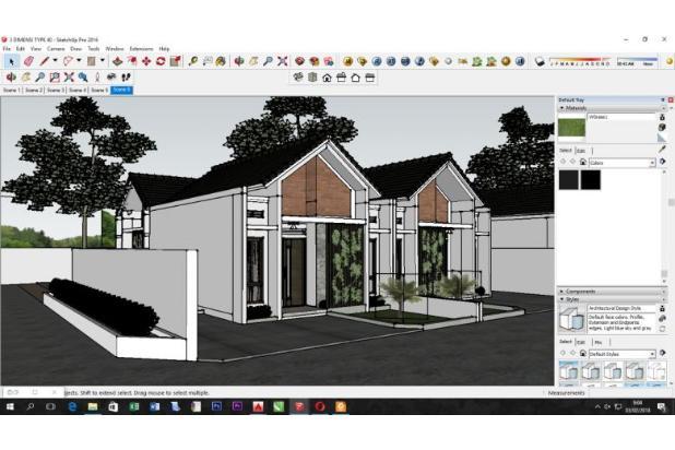 Siap Bangun 2 Unit Rumah Minimalis Harga Ekonomis Lokasi Strategis di Jogja 18273394