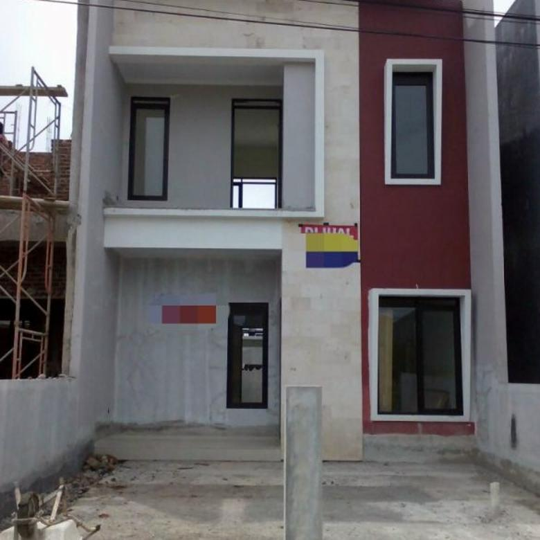 rumah baru 2 lantai lokasi di cisaranten