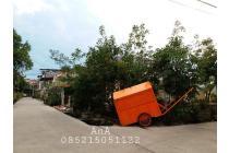Tanah Hoek 295 m2 Lokasi Bagus Dalam Komplek Kavling Polri Jelambar