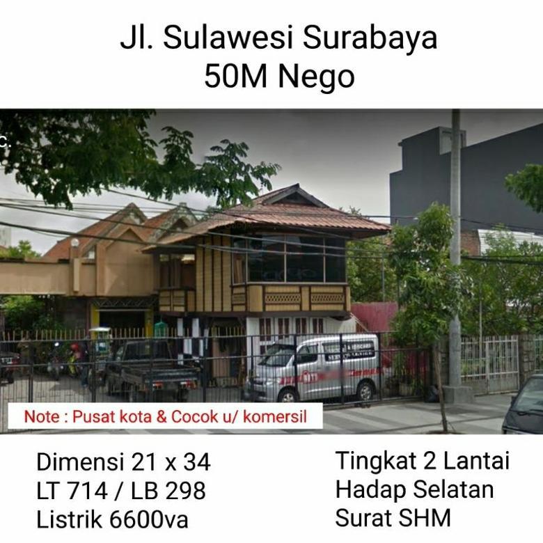Raya Sulawesi Surabaya 50 M Siap huni