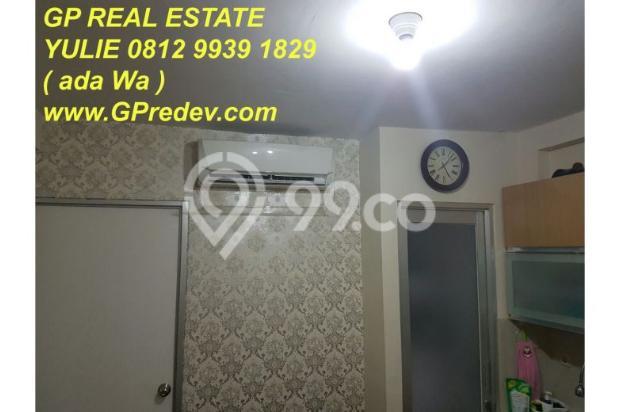 Dijual Apartemen Green Bay Tower Heliconia Pluit FF Murah 2BR lb.49m2 9626572