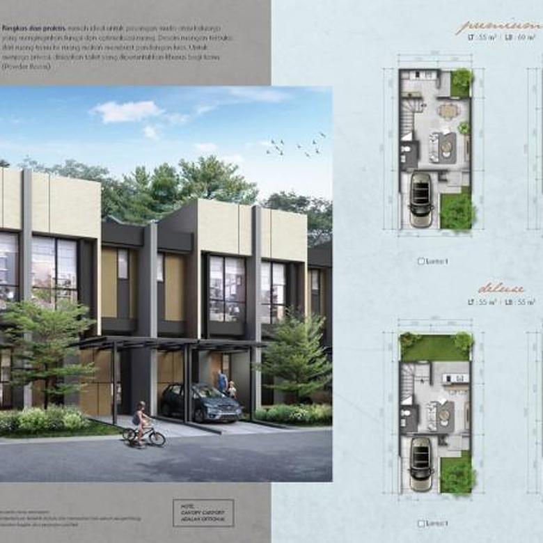 Dijual Rumah Desain Baru Kekinian Summarecon Bekasi