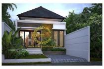 Rumah Nyaman Nuansa Bali Di Sawangan