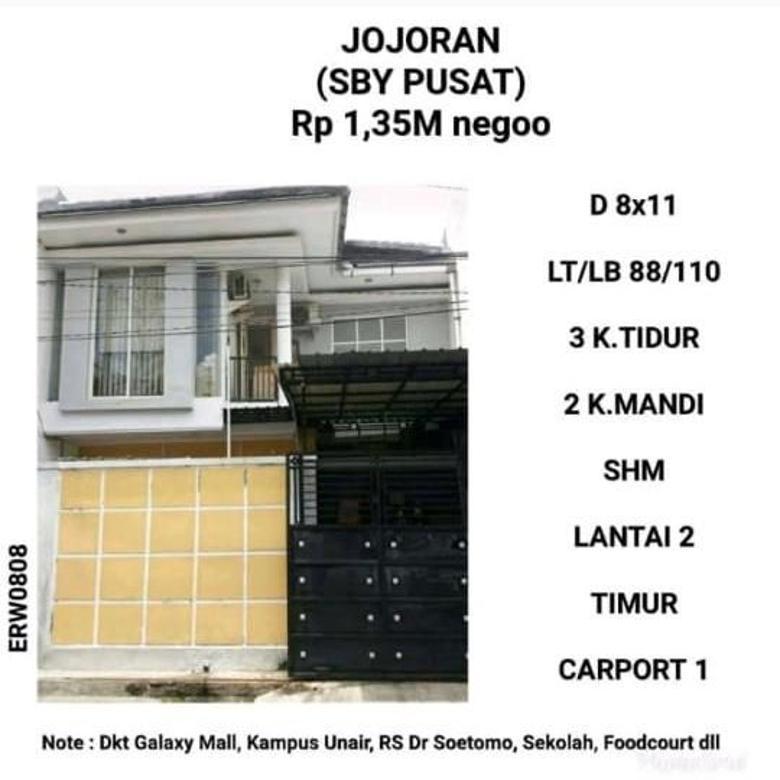 Rumah murah Jojoran Surabaya Minimalis Nego