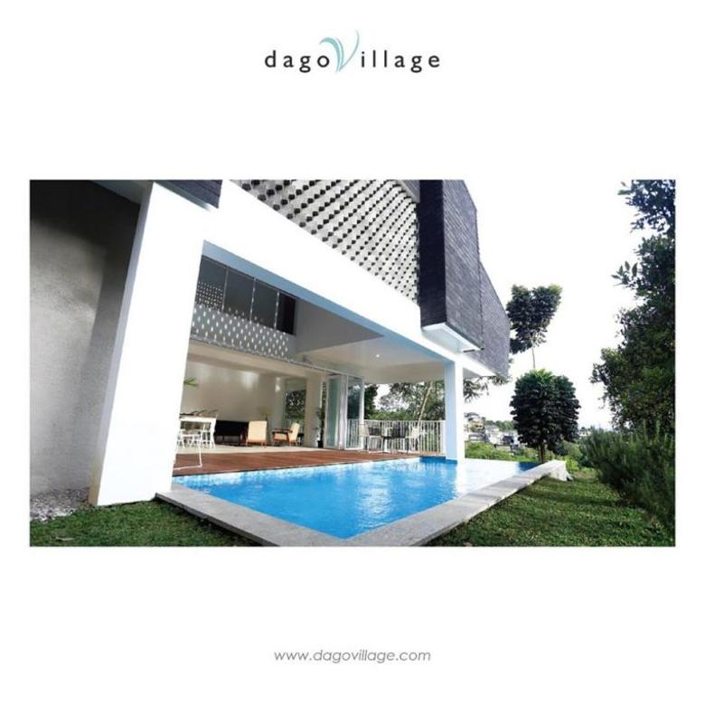 Villa Dago village bandung, free swimming pool