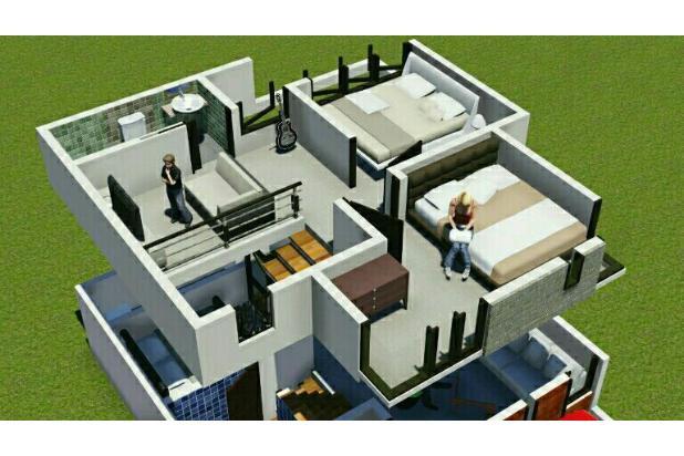 Rumah hunian eksklusif dengan harga terjangkau 16225116