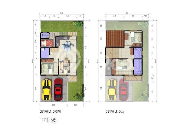 Denah Rumah tipe 95 (sisa 1 Unit Lagi) 4686236