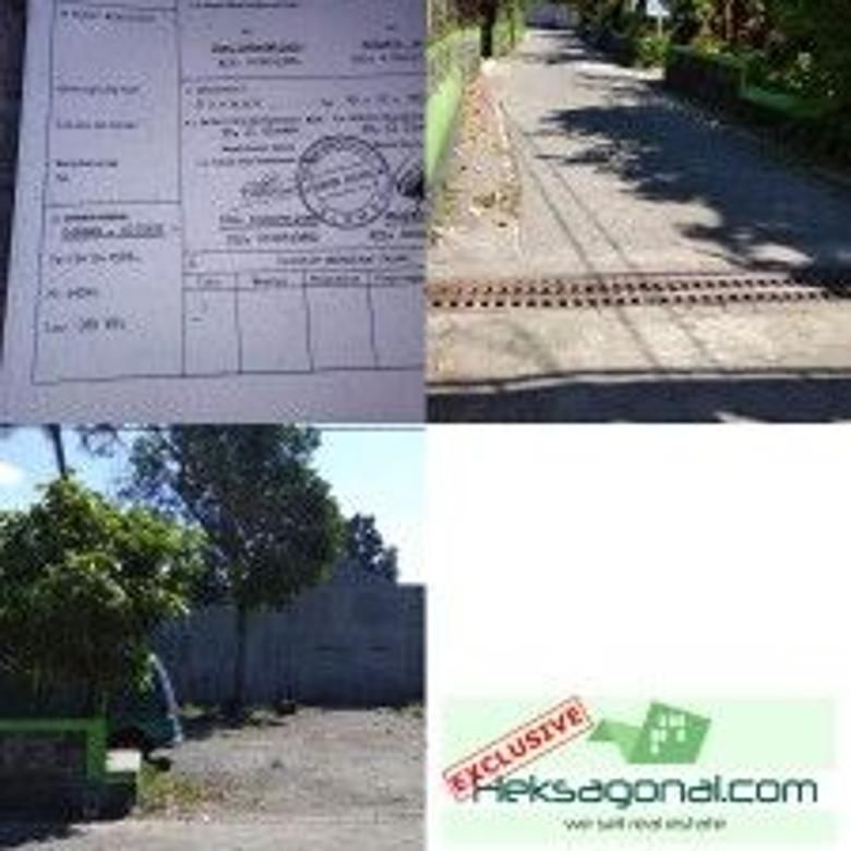 Tanah Dijual Sendangadi, Mlati, Sleman Yogyakarta hks6154
