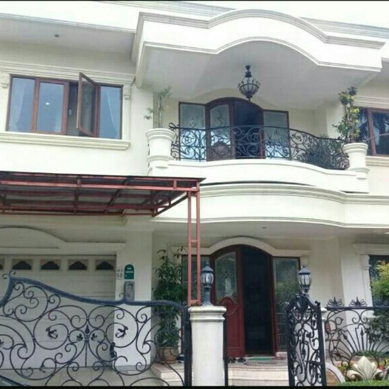 Dijual Rumah Mewah Taman Raya Golf Modernland Tangerang Banten