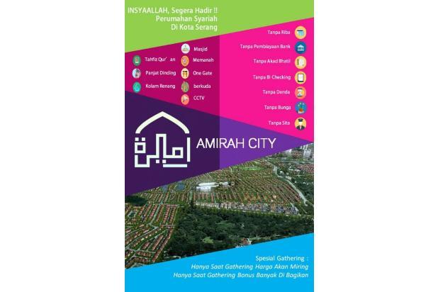 Perumahan Syariah - Rumah di Serang Amirah City 13696663