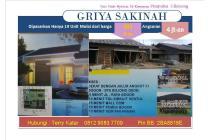 Rumah Murah dekat sekolah jalan raya bebas banjir Griya sakinah TH TOL