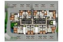 JUAL CEPAT  UNIT  1 BR 68,33 m2 SEMIFURNISH @ THE PADMAYANA