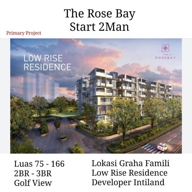 Apartemen The Rose Bay Low Rise Surabaya Barat Graha Famili