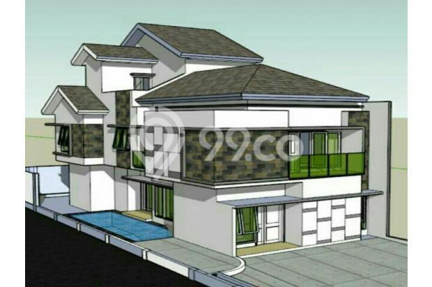 Rumah townhouse private pool di jagakarsa jakarta selatan 13097400