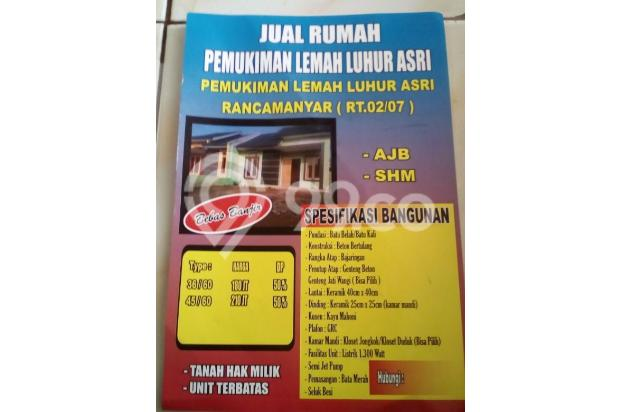PEMUKIMAN LEMAH LUHUR ASRI RANCAMANYAR. 15335132