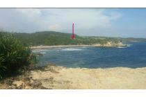 Tanah area Pantai Klayar view langsung Pantai