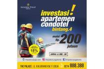 Investasi Apartmen The Palace Jogja cuma 200 juta Garansi Profit 18%